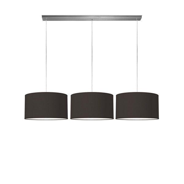 hanglamp beam 3 bling Ø 40 cm - zwart