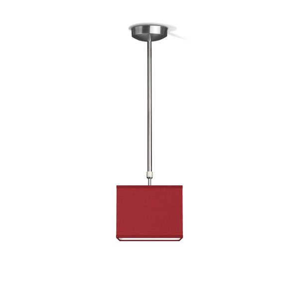 hanglamp fix block ↔ 20 cm - rood