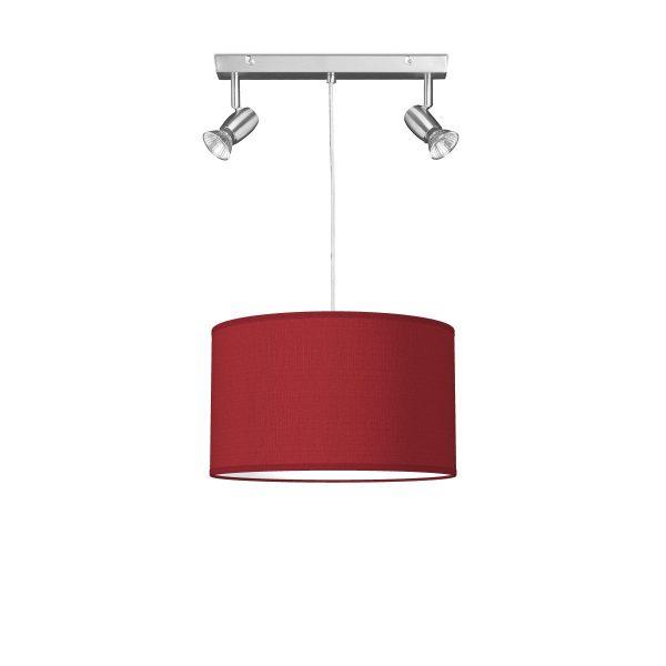 hanglamp oya bling Ø 35 cm - rood