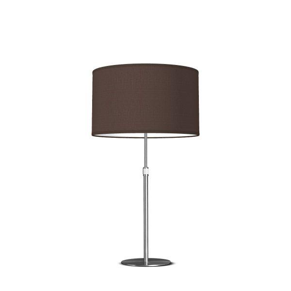 tafellamp zozo bling Ø 35 cm - bruin
