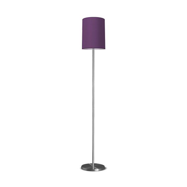 vloerlamp mauro tube Ø 30 cm - paars