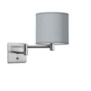 wandlamp Swing Bling Ø 16 cm - lichtgrijs