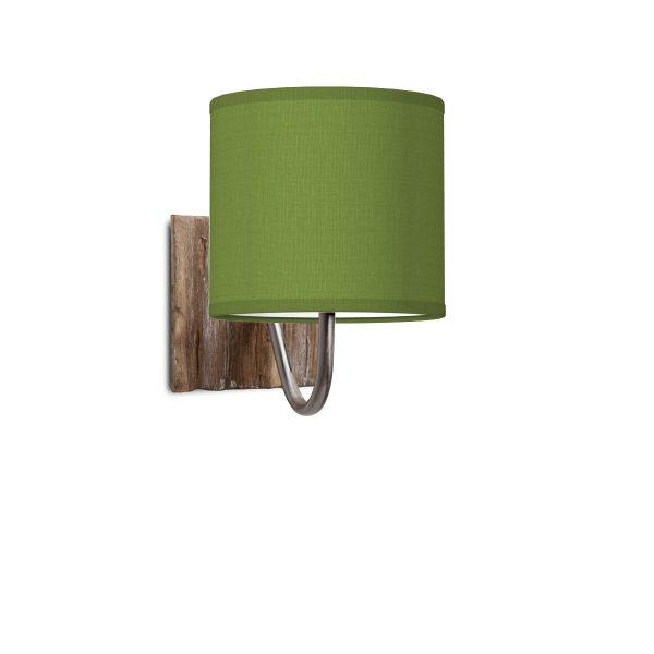 wandlamp drift bling Ø 16 cm - groen