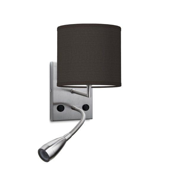 wandlamp read bling Ø 16 cm - zwart