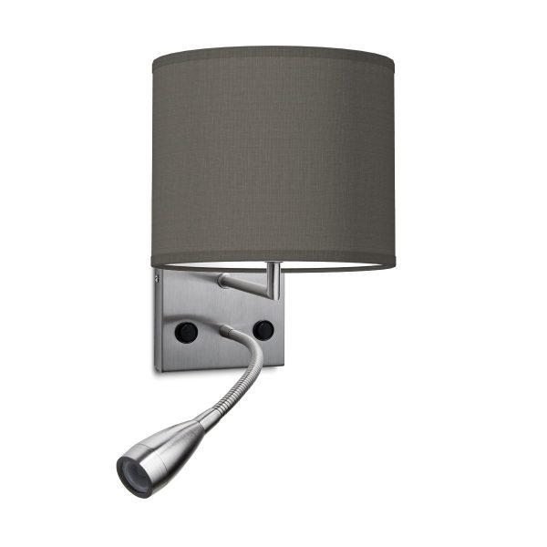 wandlamp read bling Ø 20 cm - antraciet