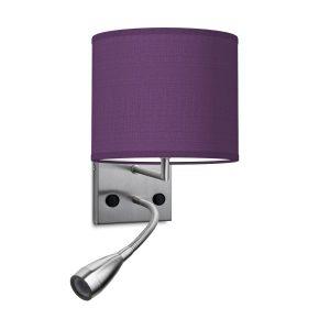 wandlamp read bling Ø 20 cm - paars