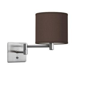 wandlamp swing bling Ø 16 cm - bruin