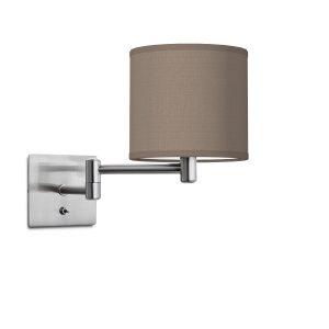 wandlamp swing bling Ø 16 cm - taupe