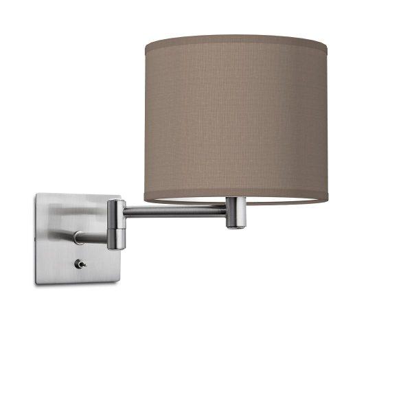 wandlamp swing bling Ø 20 cm - taupe