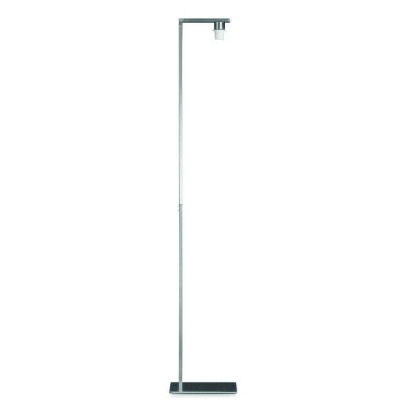 Home sweet home vloerlamp Block ↕ 155 cm - mat staal