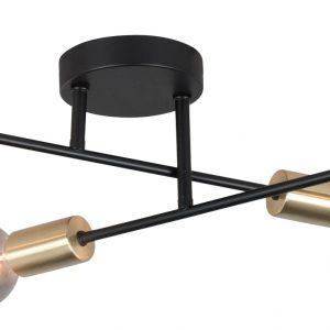 Highlight Plafondlamp Sticks - Zwart / Messing