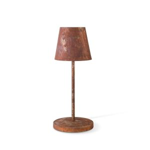 Home sweet home tafellamp Kobe - roest bruin