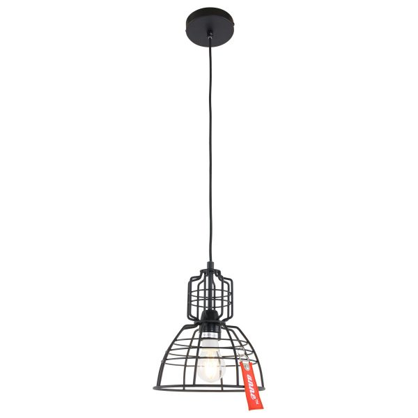 Steinhauer - Mini MarkIII - hanglamp - Zwart
