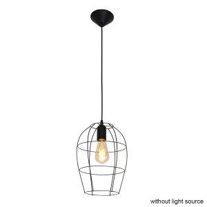 Steinhauer - Minimalics - hanglamp - Zwart