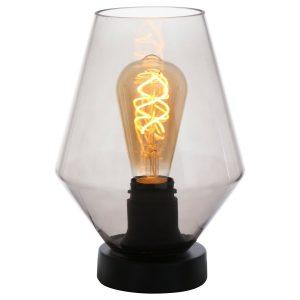 Steinhauer tafellamp Ancilla - smoke glas
