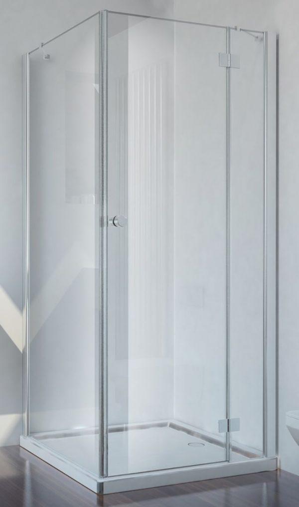 Badstuber Smart douchecabine 90x90cm rechts