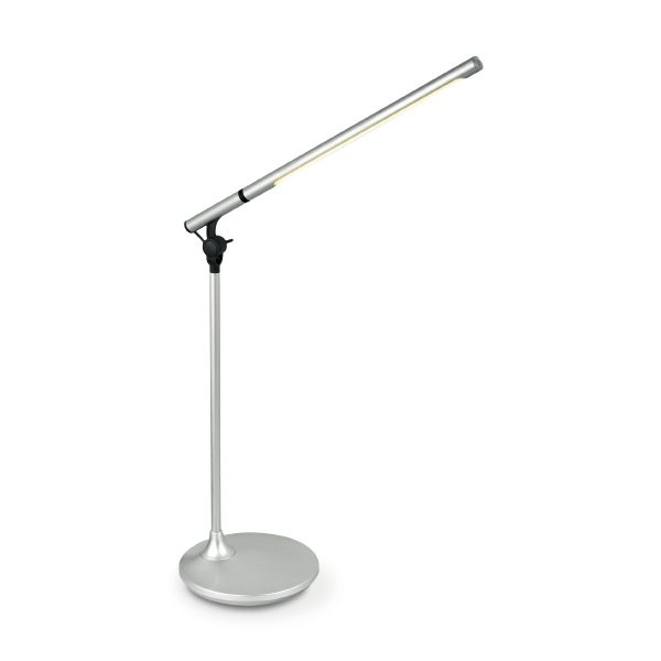 Home sweet home LED bureaulamp Halo ↕ 42 cm - zilver