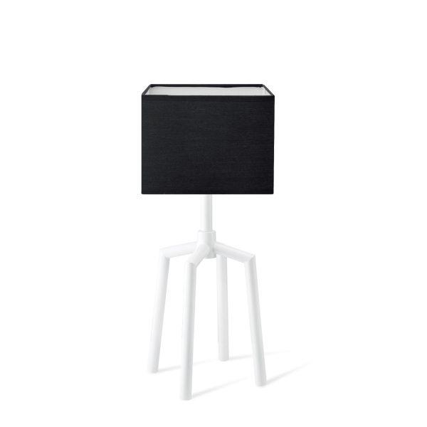Home sweet home moderne tafellamp Antonio - zwart