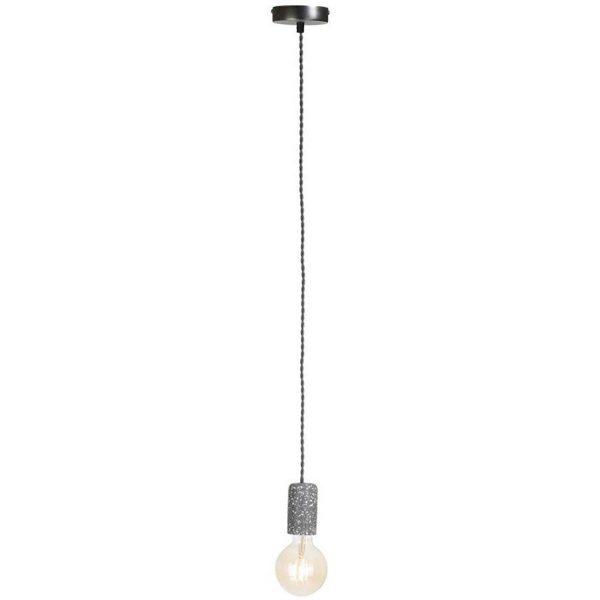 COCO Maison - Terrazza Hanglamp - E27 Fitting - 1-lichts - Rond - Mat Zwart - Beton