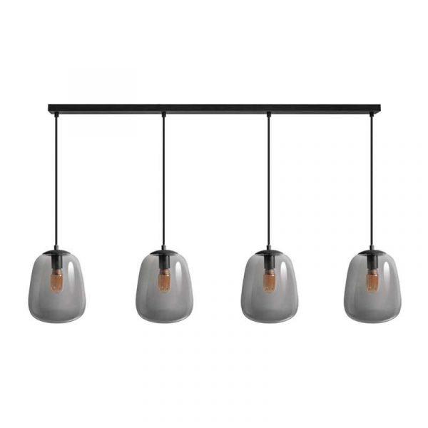 ETH hanglamp Benn 4 lichts balk - zwart