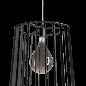 ETH hanglamp Blackbird XL 48 cm - zwart