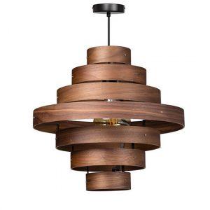 ETH hanglamp Blagoon 7 rings - walnut
