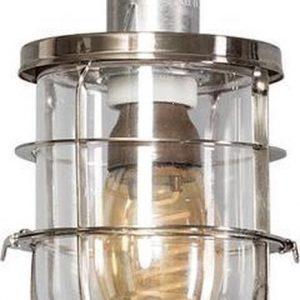 ETH plafondlamp Matino - geborsteld staal