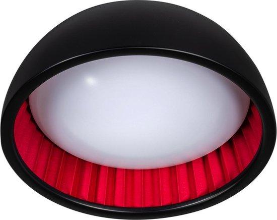 ETH plafondlamp Ringo 32 - zwart / rood