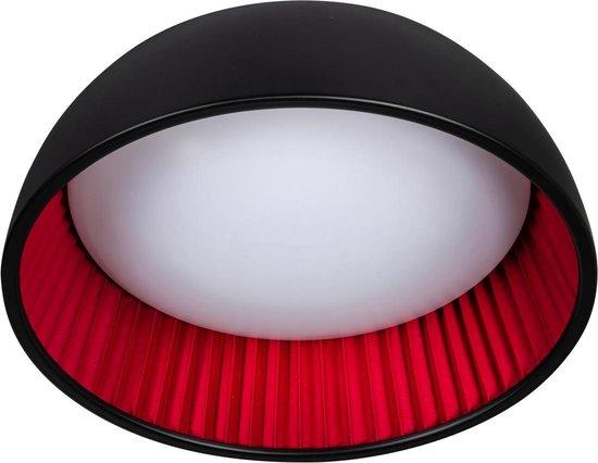 ETH plafondlamp Ringo 49 - zwart / rood