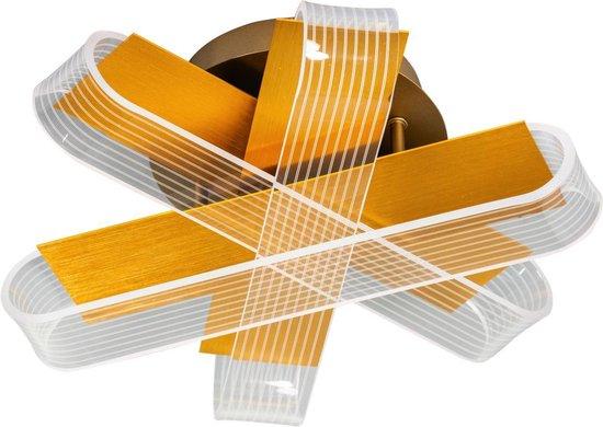 ETH plafondlamp Stripes - goud