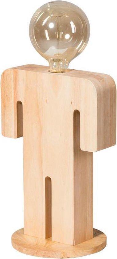 ETH tafellamp Adam XL - bruin