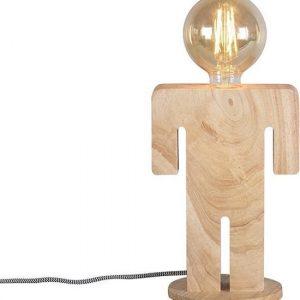 ETH tafellamp Adam - bruin
