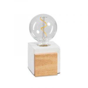 ETH tafellamp Cube - beton look