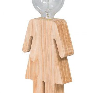 ETH tafellamp Eve - bruin