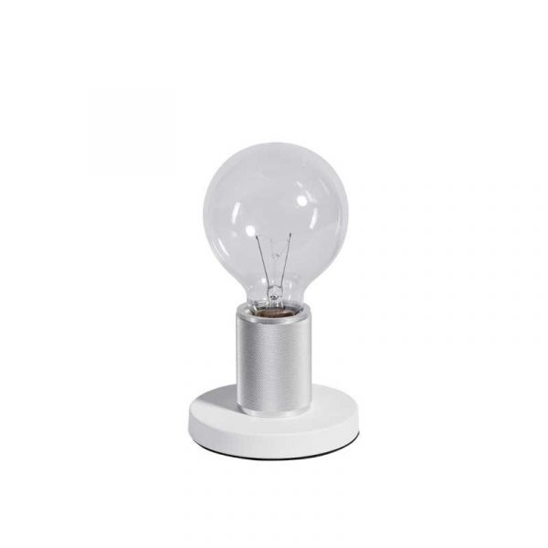 ETH tafellamp Piston base - wit