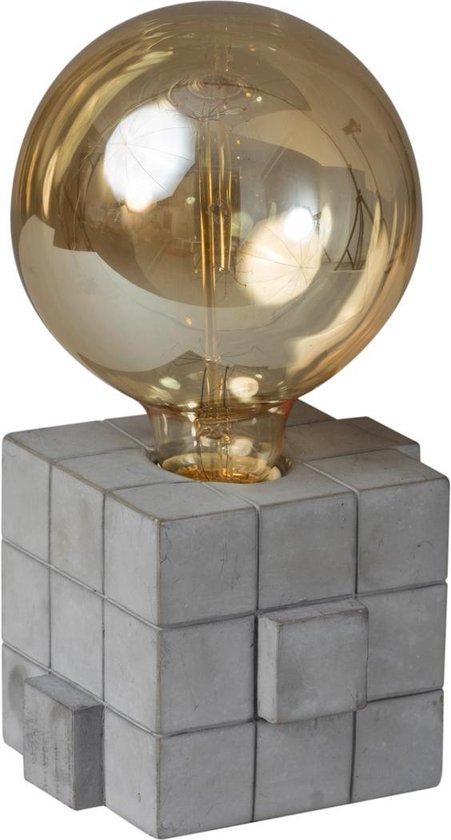 ETH tafellamp Rubix - beton look