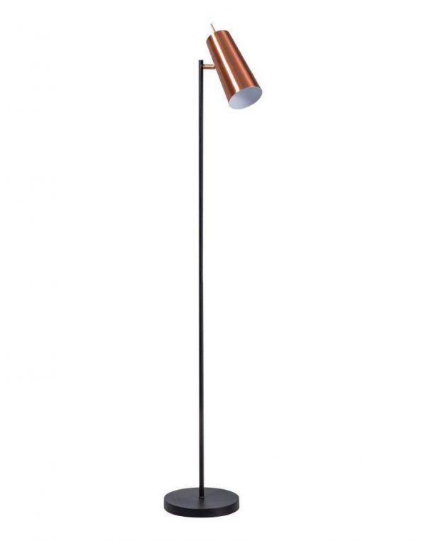 ETH vloerlamp Brooklyn - koper