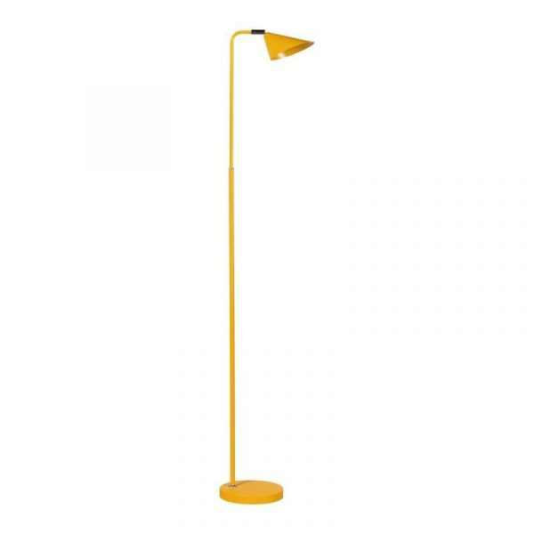 ETH vloerlamp Galvani - geel