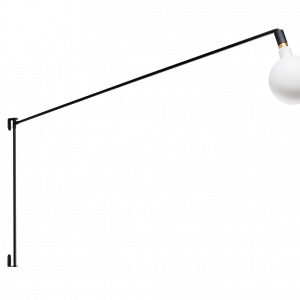 ETH wandlamp Mike XL - zwart