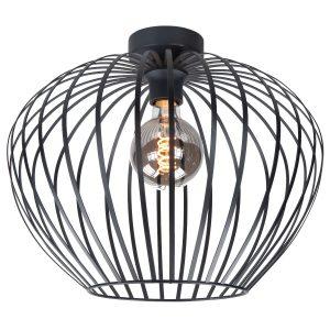 Highlight plafondlamp Mela 50 cm - zwart