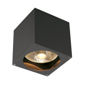 SLV buiten wandlamp Big Theo Wall Out - antraciet