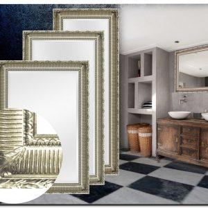 Franse Baroque spiegel Mauro Zilver