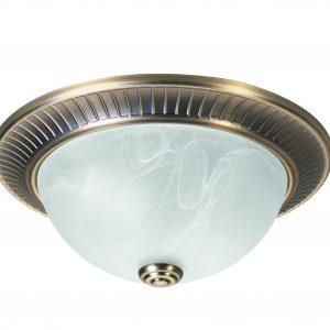 HighLight plafondlamp Klassiek Ø 31 cm - brons