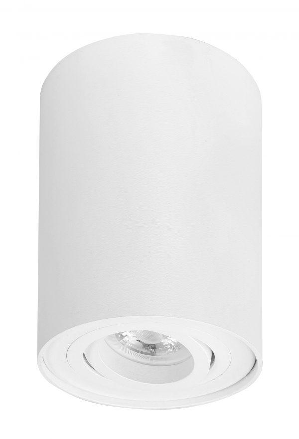 HighLight plafondlamp Maxi Rebel 1 lichts stelbaar rond - wit