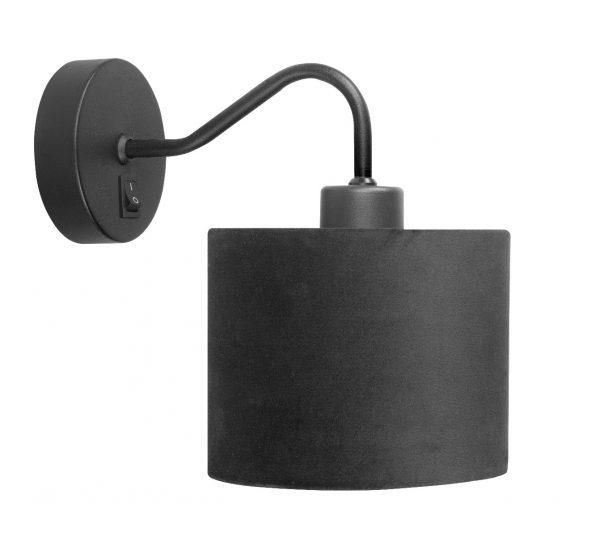 HighLight wandlamp Collo met kap - zwart