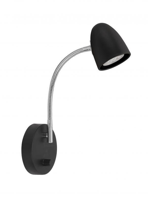 HighLight wandlamp Cone - zwart