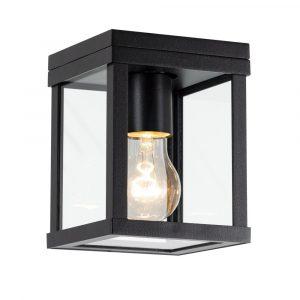 KS verlichting buiten plafondlamp - Huizen - zwart