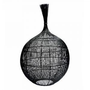 Bazar Bizar - The Wonton - vloerlamp / hanglamp - zwart