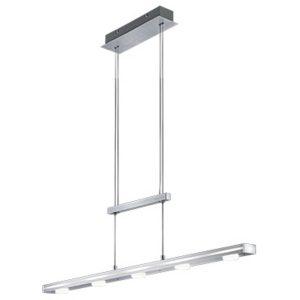 OSRAM - LED Hanglamp - Trion Kavira - 20W - Warm Wit 3000K - Rechthoek - Mat Grijs - Aluminium