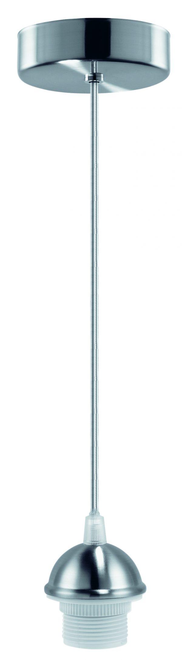 HighLight hanglamp Pendant Ancona - mat staal